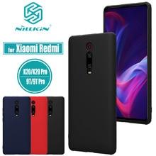for Xiaomi Mi 9T Pro Case Nillkin Liquid Silicone Soft TPU Rubber Smart Phone Full Cover Case for Xiaomi Redmi K20 Pro Shell