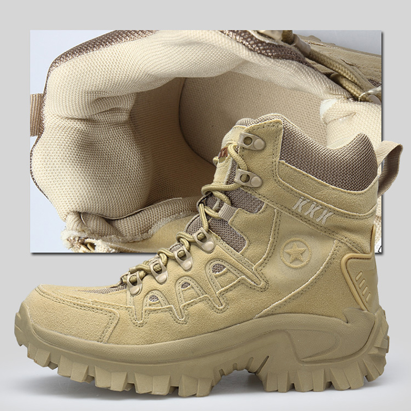 Mens Leather Low Top Hiking Outdoor Combat Military Ankle Boots Flat Oxford Shoe