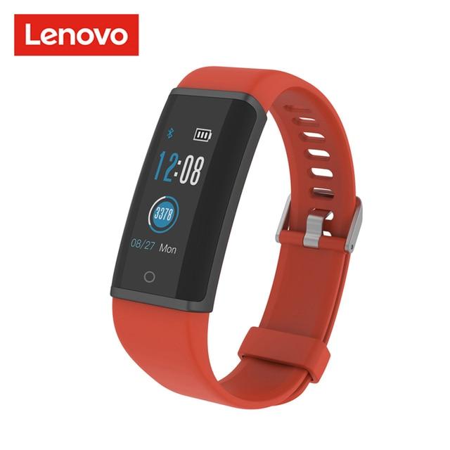 Lenovo HX03F חכם שעון חכם להקת צבעוני ברזולוציה גבוהה TFT מסך להקת Bluetooth 4.2 קצב לב צג שינה pk mi band3
