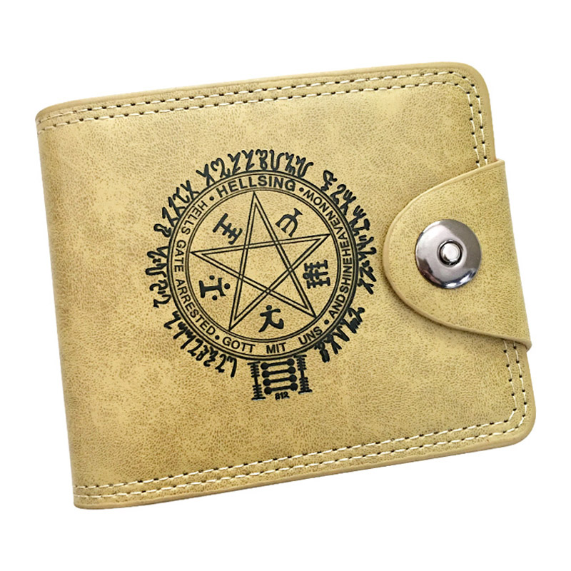 New Anime Free Bi-Fold Synthetic PU Leather Wallet