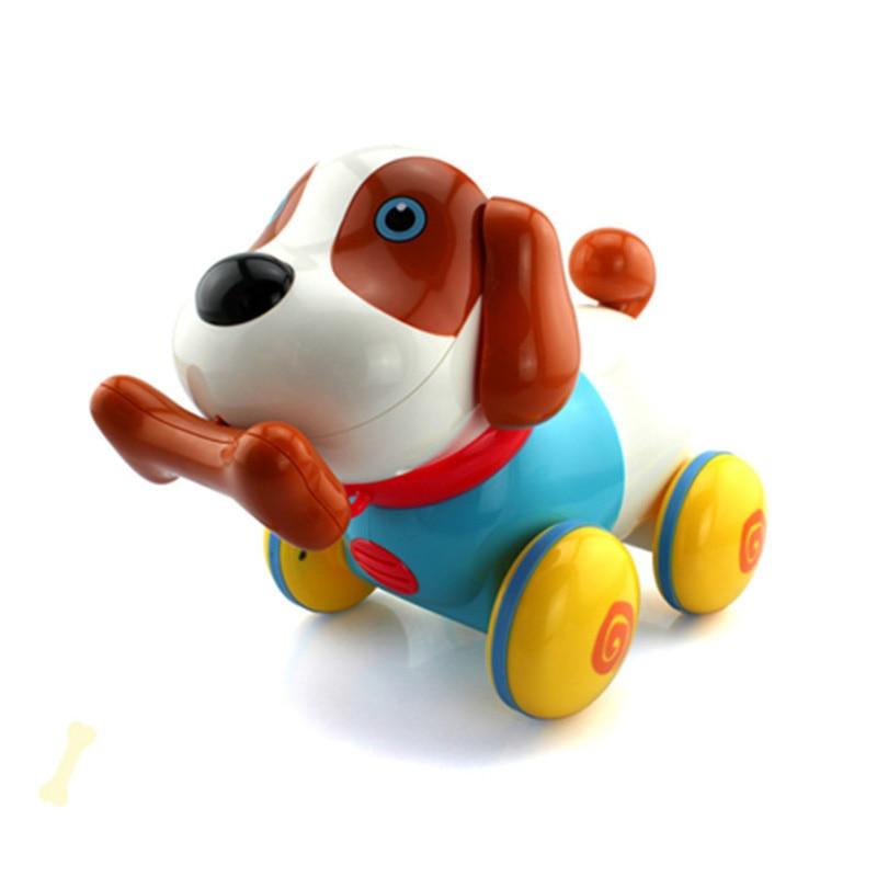 Intelligente cane macchina tirare cane maschio e bambino di sesso femminile per bambini giocattolo regalo di festa - 2