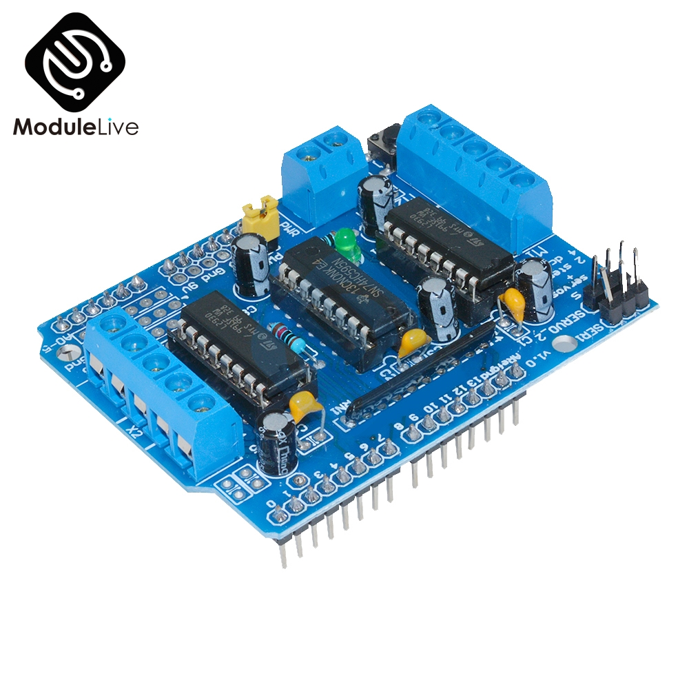 L293D Motor Treiber Arduino MEGA2560 Driver Stepper Shield DC-Motoren Neu DE