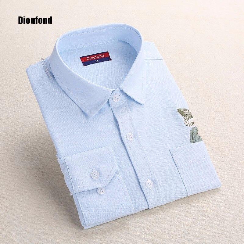 HTB1d0NeOFXXXXXIXpXXq6xXFXXXV - New Blouse Shirts Print Fox on Pocket Shirts Lady Tops