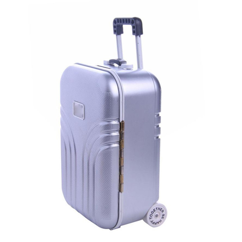 Wholesale drop shipping Trunk Luggage Carrier Boot For 18 inch Our Generation American Girl/Boy Dol the US girl Accessor S3JUN1