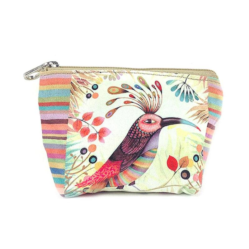 Cute Canvas Small Women Coin Purse Colorful Mini Lovely Cartoon Pattern Children Bag Change Zipper Casual Key Wallet for Girls cute cartoon mini coin purse girls key case wallet children headset bag coin bag zipper handbag children gifts piggy pecs