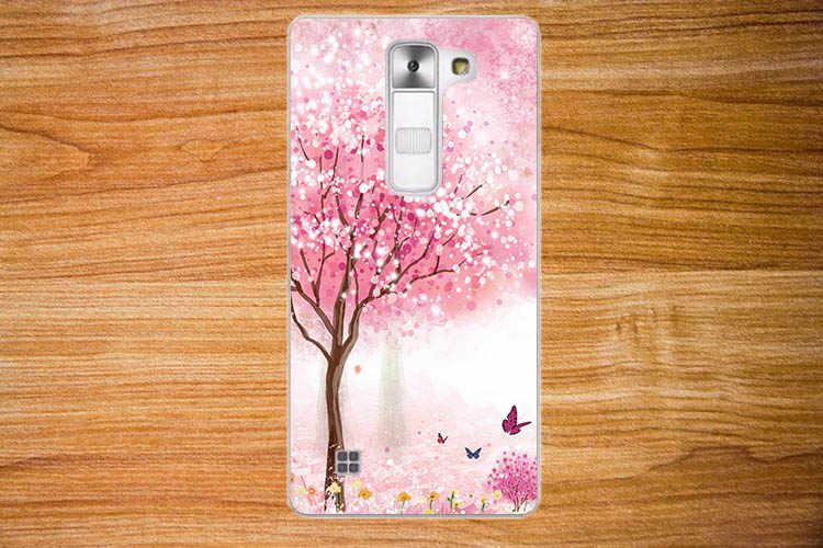 حار! ل LG K8 LTE K350 K350E K350N حامي عودة الجلد غطاء أفضل جودة مختلف الزهور أنيق حالة غطاء حامل ل LG k8