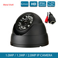 Metal 1.0MP 1.3MP 2MP Bullet 720P IP Camera 1080P Outdoor IR 20m HD Security Waterproof Night Vision P2P CCTV IP Camera ONVIF