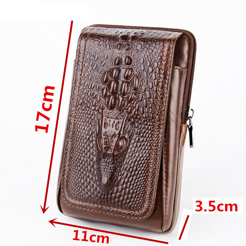 Image 2 - CHEZVOUS Phone Pouch Belt Clip Case for iPhone 7 8 6 X Retro 