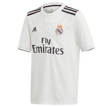 ADIDAS CAMISETA REAL MADRID 2018 2019 niño – camiseta fútbol poliester blanco – camisetas de futbol, real madrid camiseta