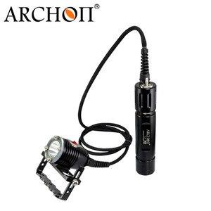 Ручной фонарик ARCHON DH26 WH32 XM-L2 U2 LED 1000LM 100 м, Водонепроницаемый Подводный фонарь для дайвинга