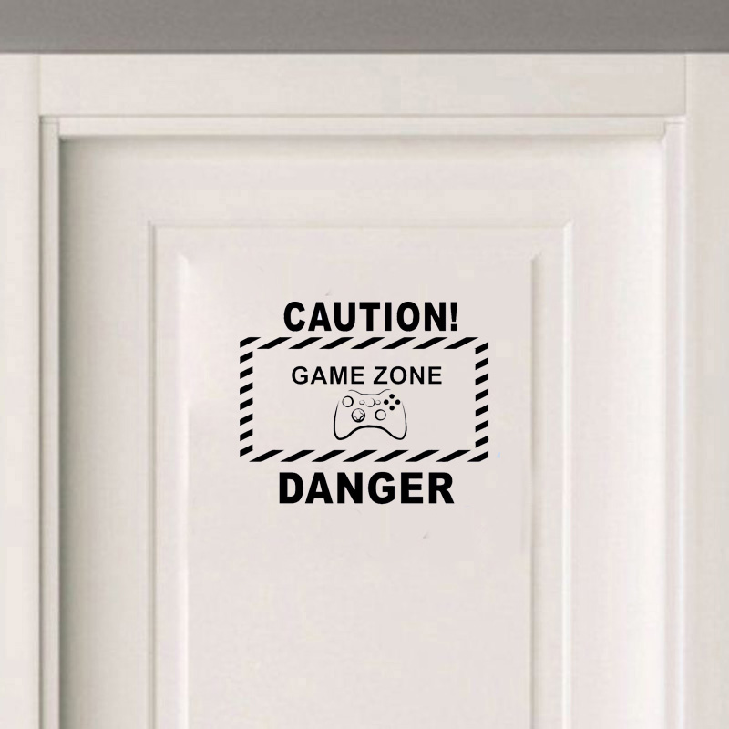 Stizzy Wall Decal Quotes I Am The Danger Modern Wall Sticker Kids Room Decoration Accessories Poster Home Decor Art Mural B407 Wall Stickers Home & Garden