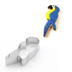 AMW Papagei Vogel Förmige Küche Backformen Günstige Ofen Backen Zubehör Edelstahl Cookie Cutter Metall Cookie Form MJ7114