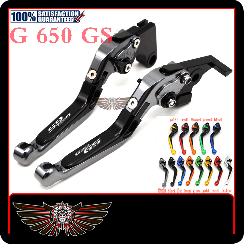 cfor bmw g650gs sertao g 650 gs g650 gs 2010-2015 motorcycle adjustable  folding extendable brake clutch lever
