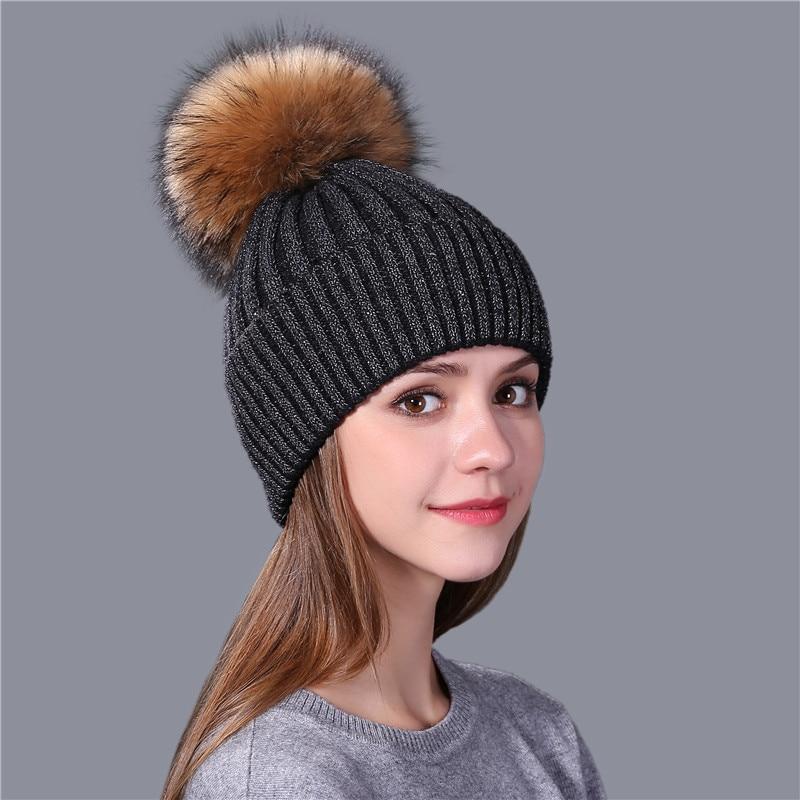 Üçüncü moda qadın qış şapkaları və qızlar üçün mink - Geyim aksesuarları - Fotoqrafiya 3