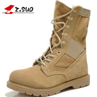 Z Suo Men S Boots Cylinder In The Fashionable Man Martin Boots Leisure Fashion Winter Outdoor