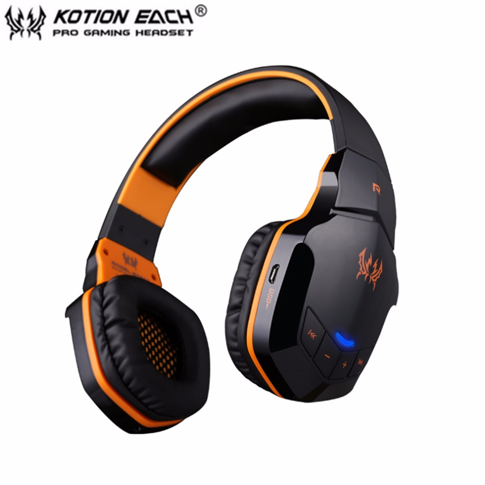 KOTION EACH B3505 Wireless Bluetooth 4.1 Stereo Gaming Headphone Headset Support NFC Mic Suitable For Phone Computer Voice