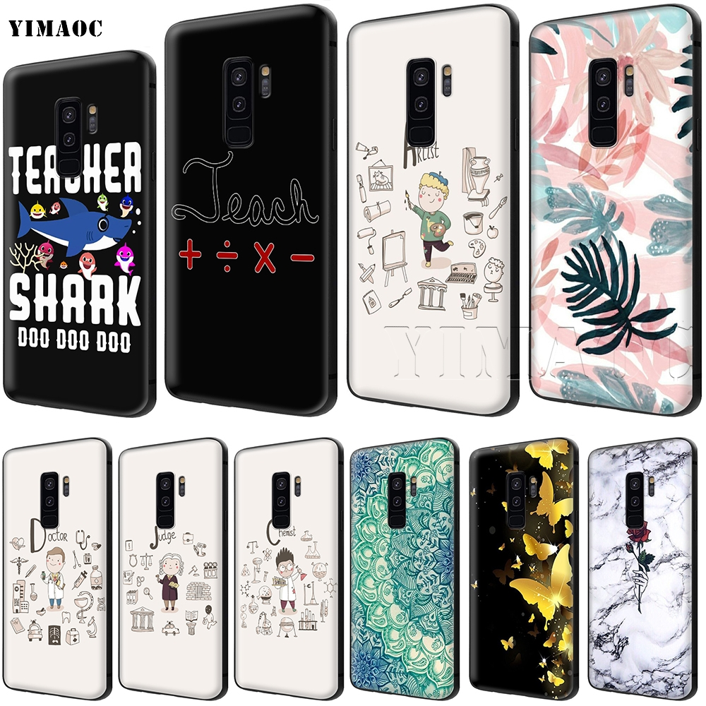 Fitted Cases Cellphones & Telecommunications Frugal Yimaoc Teacher Artist Chemist Doctor Judge Soft Silicone Case For Samsung Galaxy S6 S7 Edge S8 S9 Plus A3 A5 A6 Note 8 9
