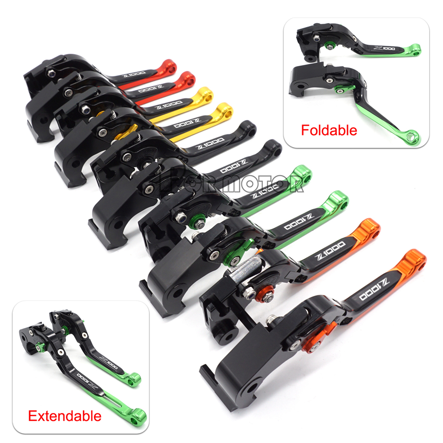 2017 New Motorcycle CNC Brakes Clutch Levers For Kawasaki Z1000 2007 2016 Z1000SX NINJA 1000 2011 2012 2013 2014 2015 In Ropes Cables From