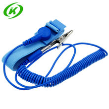 1pcs Cordless Wireless Clip Antistatic Anti Static ESD Wristband Wrist Strap Discharge Cables For Electrician IC PLCC worke(China)