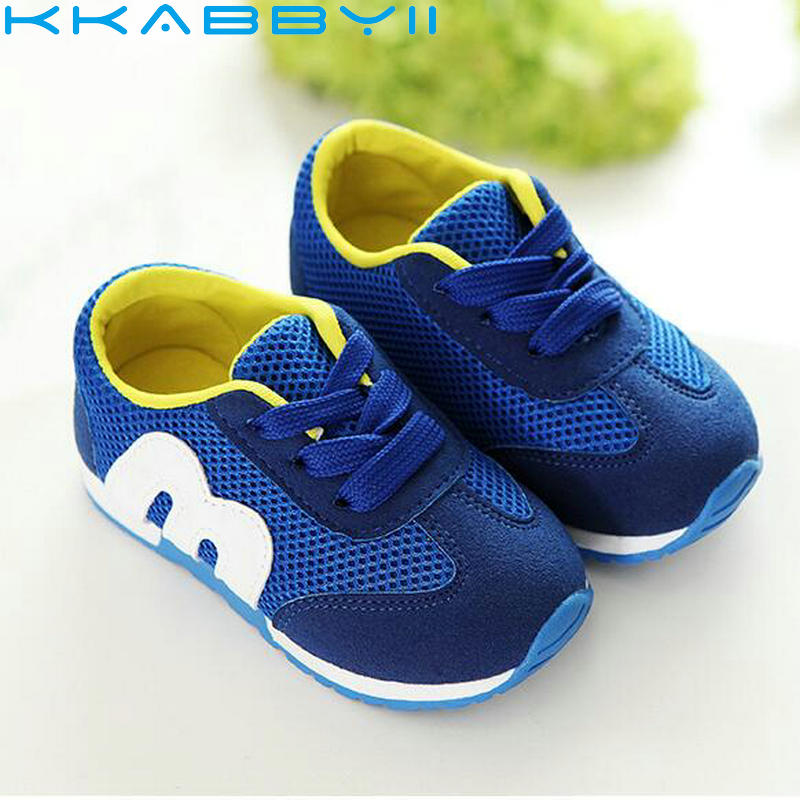 Baby Toddler Sport Shoes Breathable Spring Autumn Style Flat Shoes Laces Up