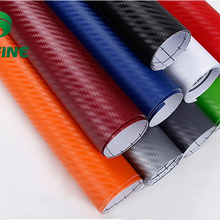 KUNFINE 200 см x 50 см 3D виниловая пленка из углеродного волокна для автомобиля, автомобильные наклейки и Переводные картинки, мотоциклетные автомобильные аксессуары для стайлинга, водонепроницаемые