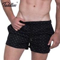 Taddlee Brand Men Beach Board Shorts Short Bottoms Running Sports Swim Surf Boxer Trunks Shorts Boardshorts