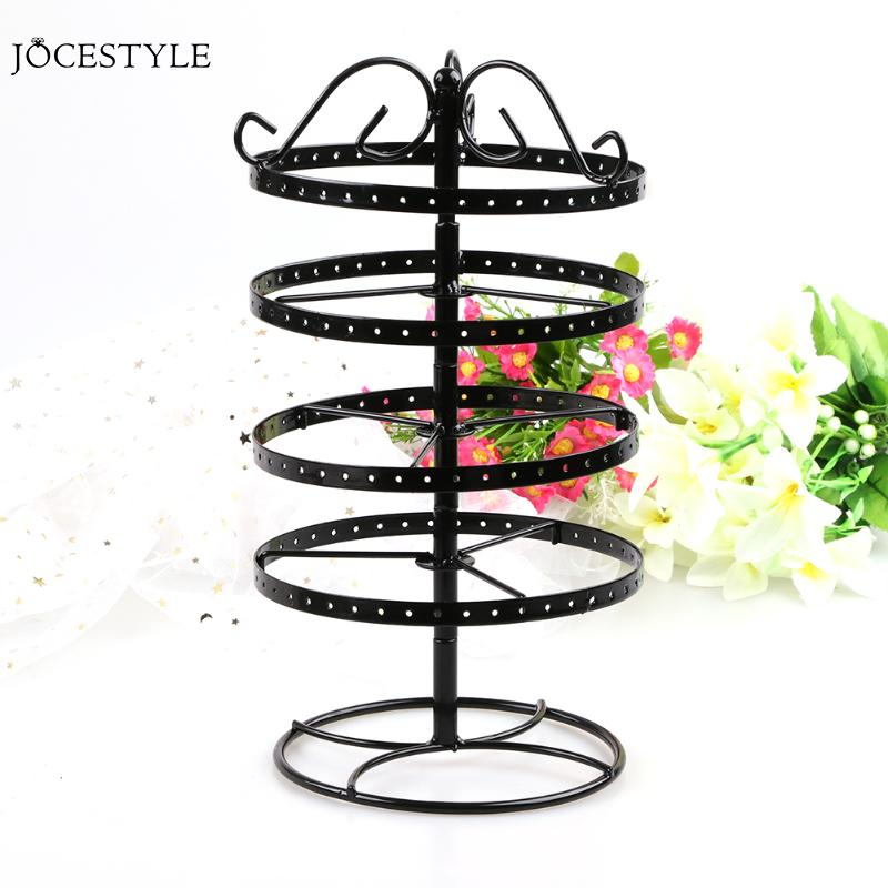 NEW Multifunctional Metal Necklace Chain Bracelet Rotation Holder Jewelry Display Detachable Earring Stand Rack HangerNEW Multifunctional Metal Necklace Chain Bracelet Rotation Holder Jewelry Display Detachable Earring Stand Rack Hanger