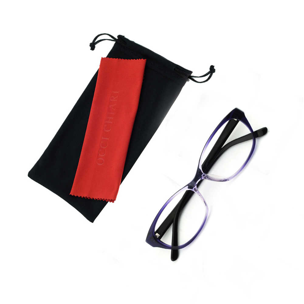 8ad331604fe0 ... OCCI CHIARI Women Cat Eyes Style Eyeglasses Prescription Wine Red  Myopia Spectacle Student Fashion Glasses Frame