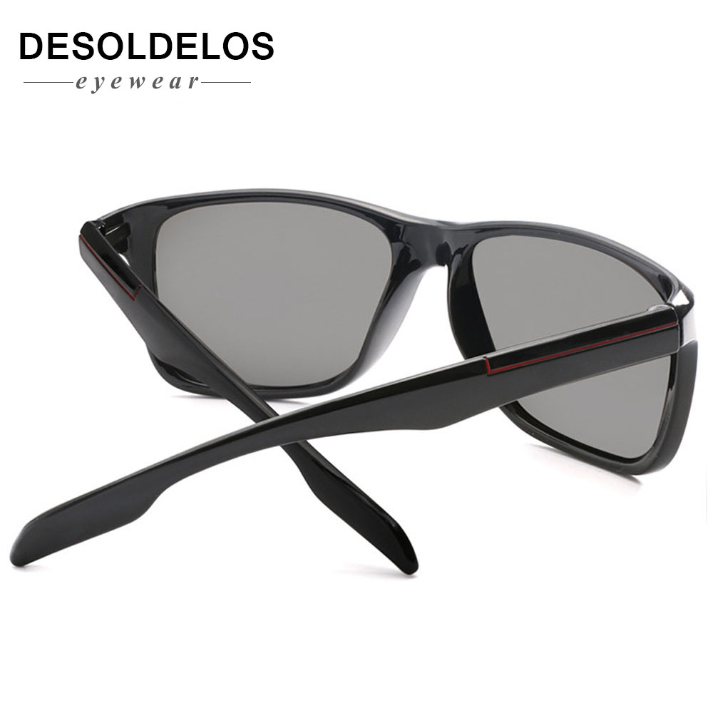 2019 Photochromic Polarized Sunglasses Men Car Driving Goggles Chameleon Sunglass Male Discoloration Glasses B1037 in Men 39 s Sunglasses from Apparel Accessories