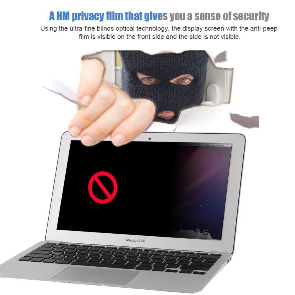 Privatsphäre Filter Anti Spy Bildschirme Schutz Film Für 16:9 Laptop 310mm * 174mm 14 Zoll