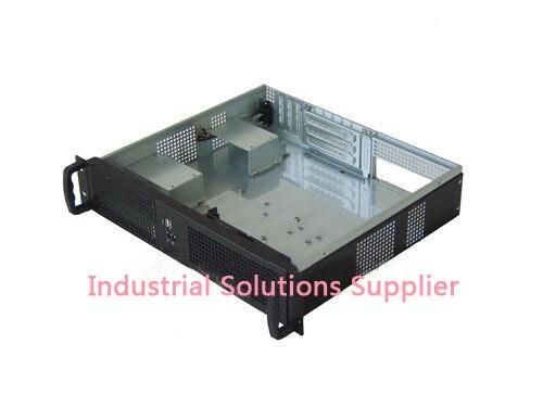 Ultra-short 2u server computer case 2u ultra-short computer case 2u industrial computer case double server motherboard