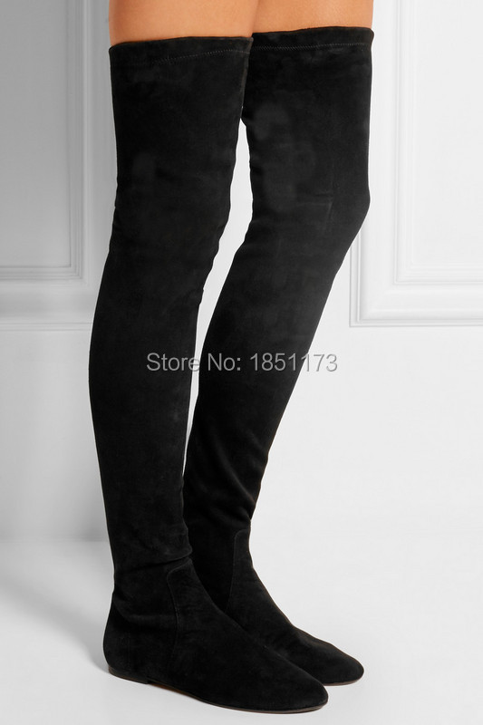 thigh high flat boots cheap | Gommap Blog