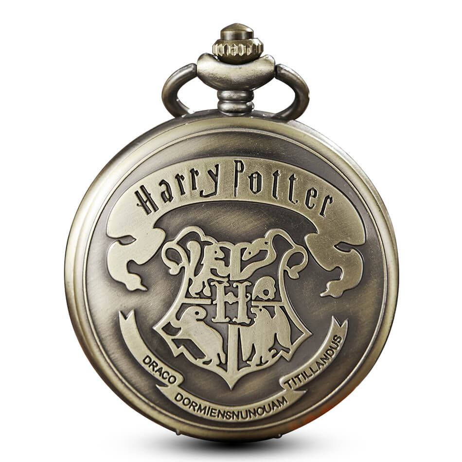 Harry Potter Pocket Watches Vintage School Hogwarts SLYTHERIN RAVENCLAW Quartz Pocket Watch with chain necklace pendent for Men new pattern hogg watts magic school school badge quartz pocket watch senior high school student harry potter gift table ds281