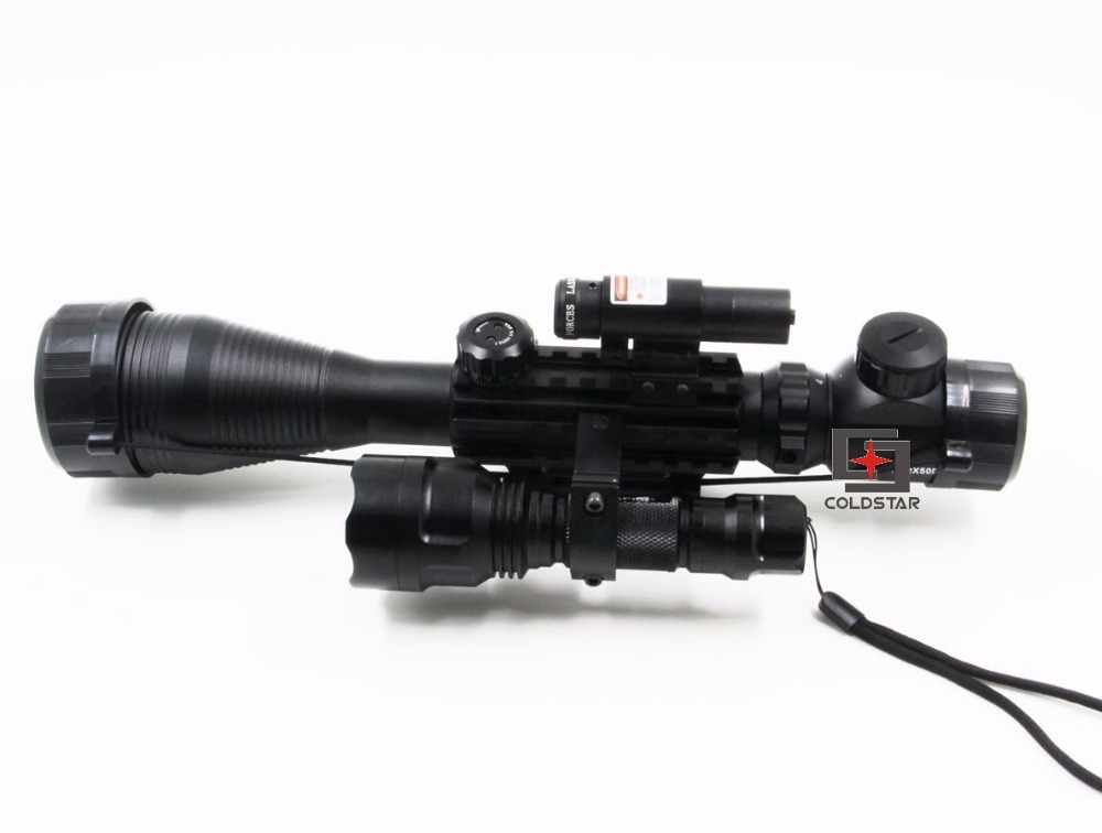Jagd kompakte c eg waffe gun zielfernrohr combo w laser