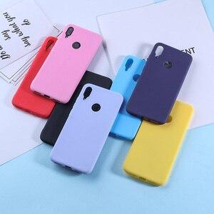 Image 5 - Cukierki kolor silikonowy futerał na telefon TPU obudowa do Xiaomi czerwony mi 7 6 Pro 6A TPU silikonowy matowy pokrowce na czerwony mi uwaga 7 6 5 Pro mi 8 9 Lite