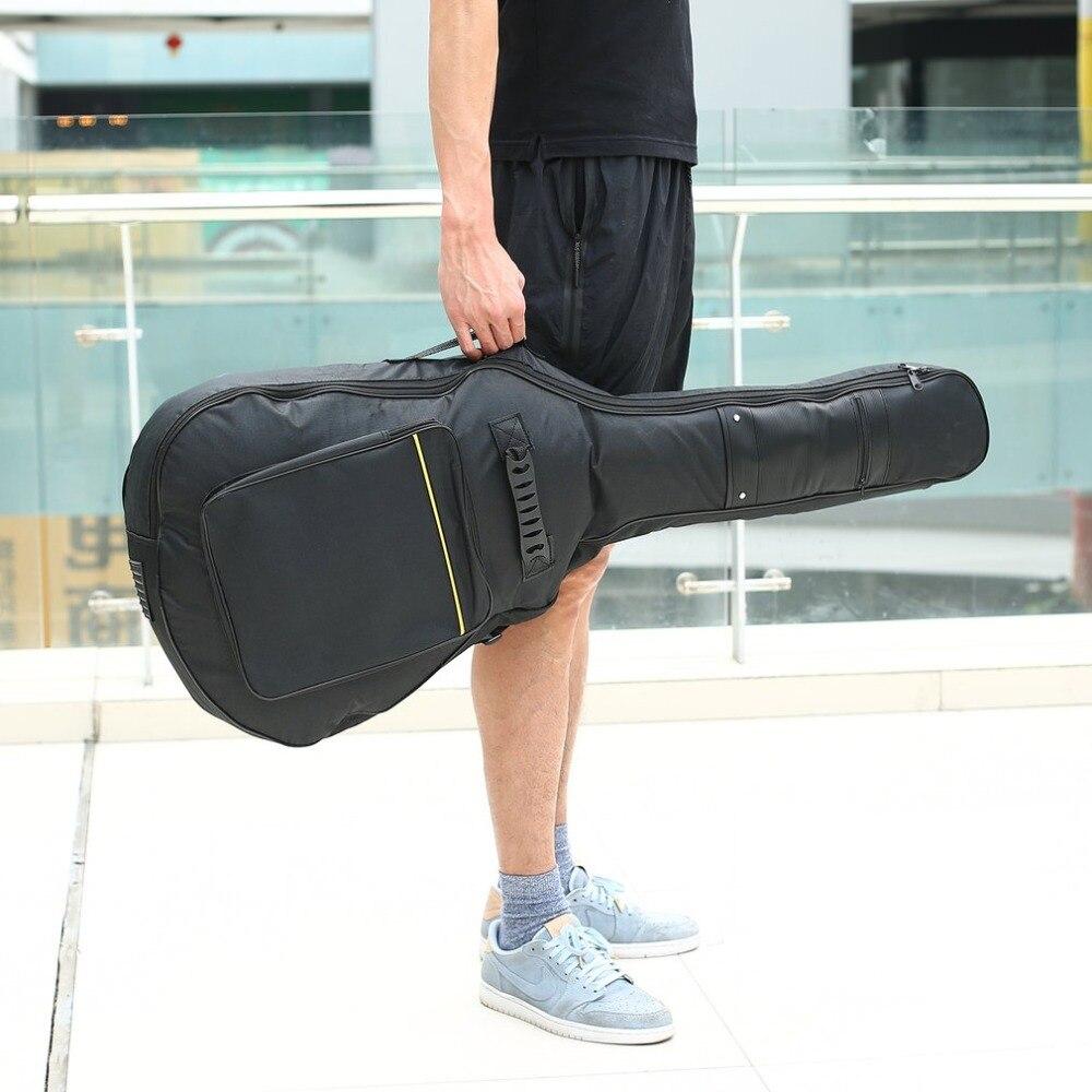 """41 """"Akustikgitarre-Doppelgurte aufgefüllter Gitarren-weicher Fall-Gig-Beutel-Rucksack geben Verschiffen frei"""