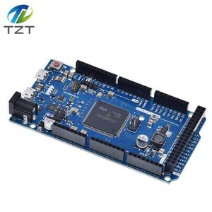 Image 5 - Official Compatible DUE R3 Board SAM3X8E 32 bit ARM Cortex M3 / Mega2560 R3 Duemilanove 2013 For Arduino Due Board  With Cable
