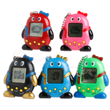 Mini Plastic Baby Kids Toy Educational Virtual Penguin Electronic Digital Machine Game Gift For boys Girls