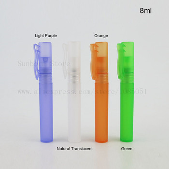 8ml Small Plastic Perfume Spray Empty Bottles Cosmetic Containers Mini Spray Bottle pen shape 500pcs