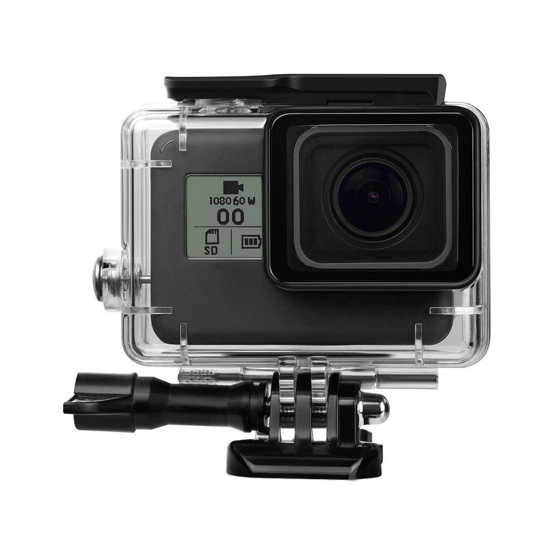 45 Mt Unterwasser Wasserdichte Schutz Gehäuse mit Schnellwechselhalterung und Flügelschraube für GoPro HERO 5 Action Camcorder