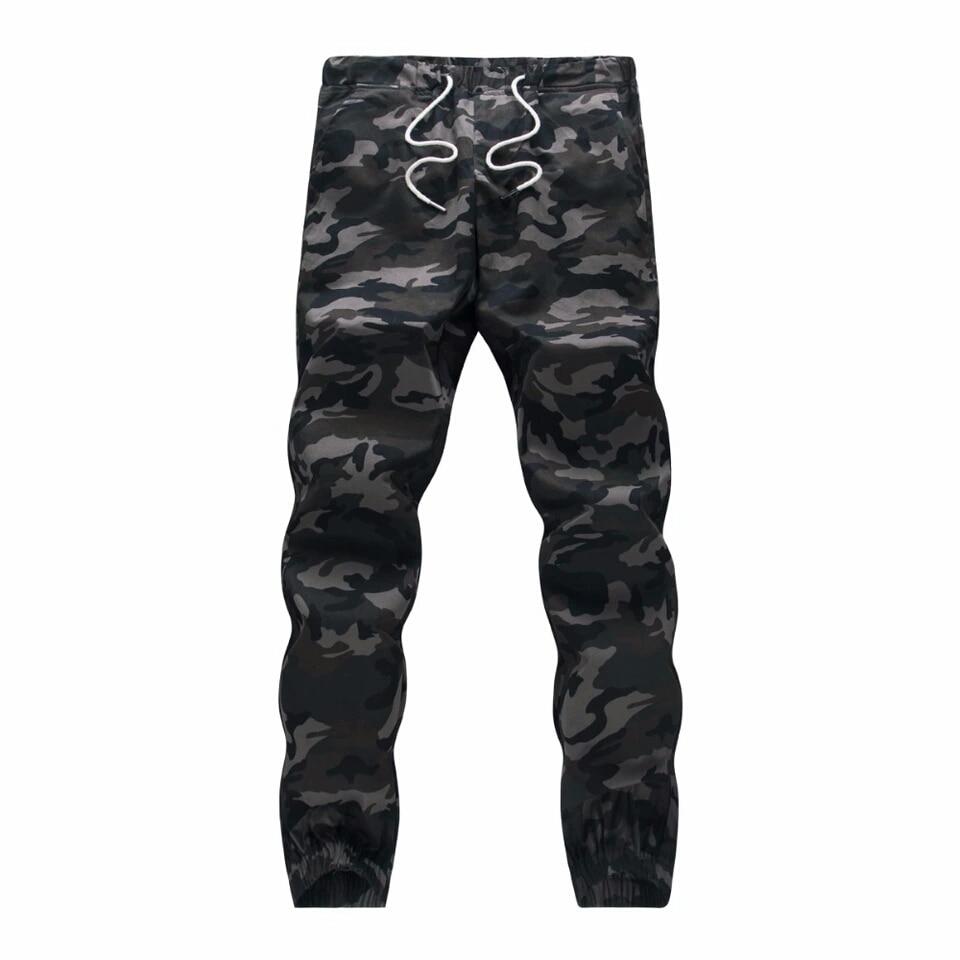 M 5X 2017 Mens Boutique Autumn Pencil Harem Pants Men Camouflage Military Pants Loose Comfortable Cargo