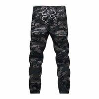 M 5X 2015 Mens Boutique Autumn Pencil Harem Pants Men Camouflage Military Pants Loose Comfortable Cargo
