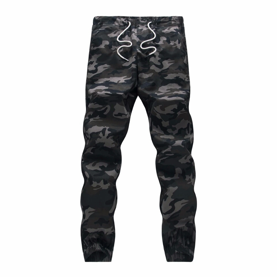 M-5XL 2019 Mens Boutique Autumn Pencil Harem Pants Men Camouflage Military Pants Loose Comfortable Cargo Trousers Camo Joggers