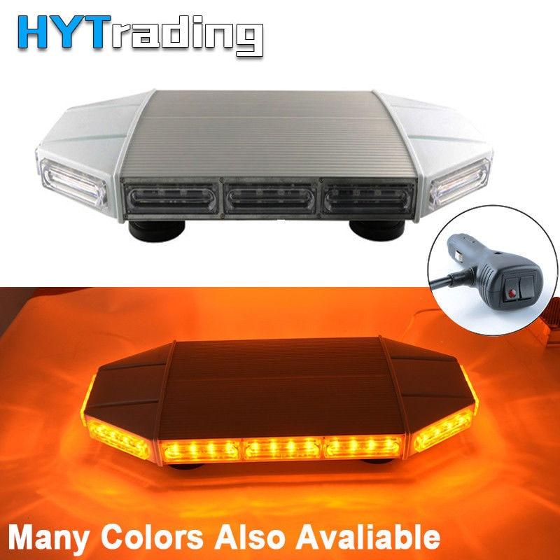 48W 48LED car flash Warning Lights Vehicle Police LED Flashing Beacon Strobe Emergency Lamp 12-24V More Color