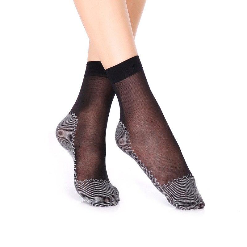 women sexy silk sockss