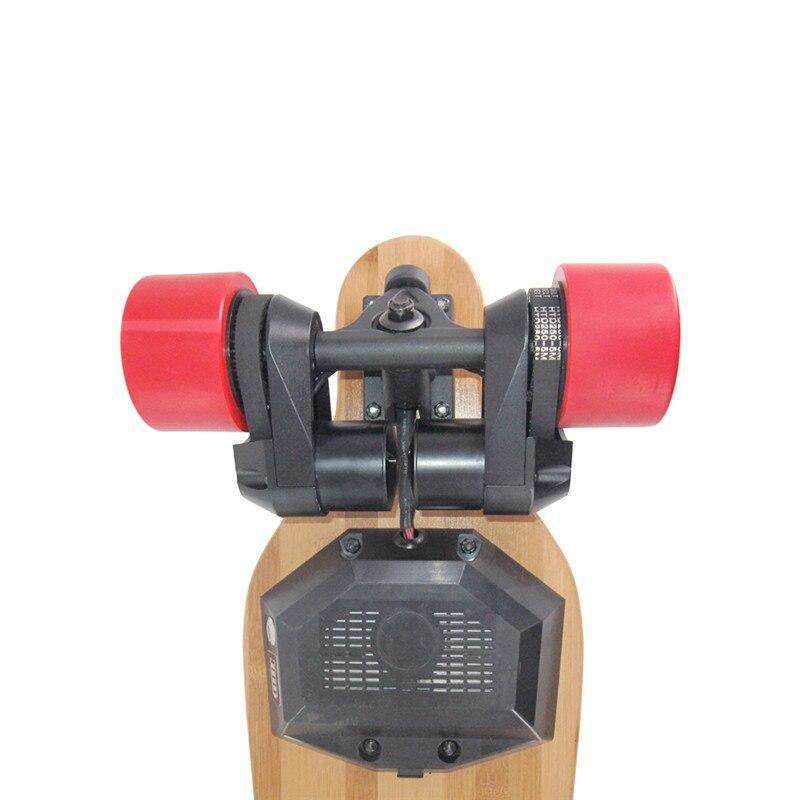 Skateboard électrique Longboard T-Ombre led LightsBelts Double Moteurs Sans Fil télécommande Électrique Scooters 300 Lbs charge maximale - 6
