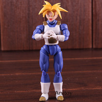 SHFiguarts Dragon Ball Z Trunks Action Figures PVC Dragon Ball Super Saiyan Trunks Collectible Model Toy