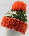 Orden de la mezcla raya Clásica de calidad de lana de invierno sombrero de punto para hombres y mujeres skullies y gorros casquillo envío libre
