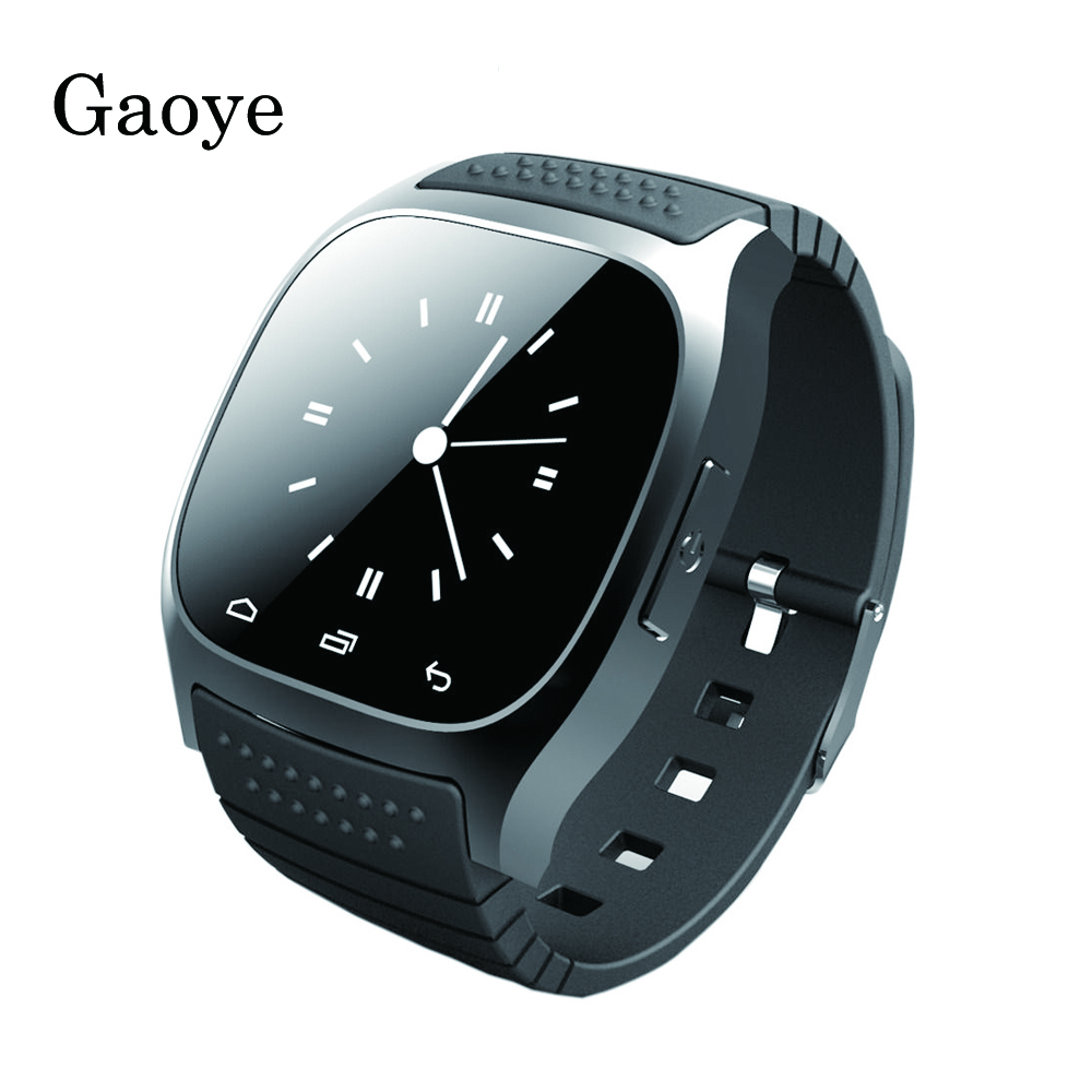 gaoye m26 bluetooth smart watch smartwatch android smart. Black Bedroom Furniture Sets. Home Design Ideas