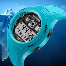 купить Fashion SANDA Brand Sports Watches Women LED Digital Swim Watch Women Multifunctional Wristwatches Alarm Stopwatch Ladies Clock дешево